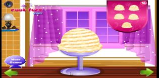 Vanilla Ice Cream Deco
