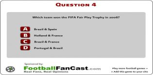 World Cup Football Quiz